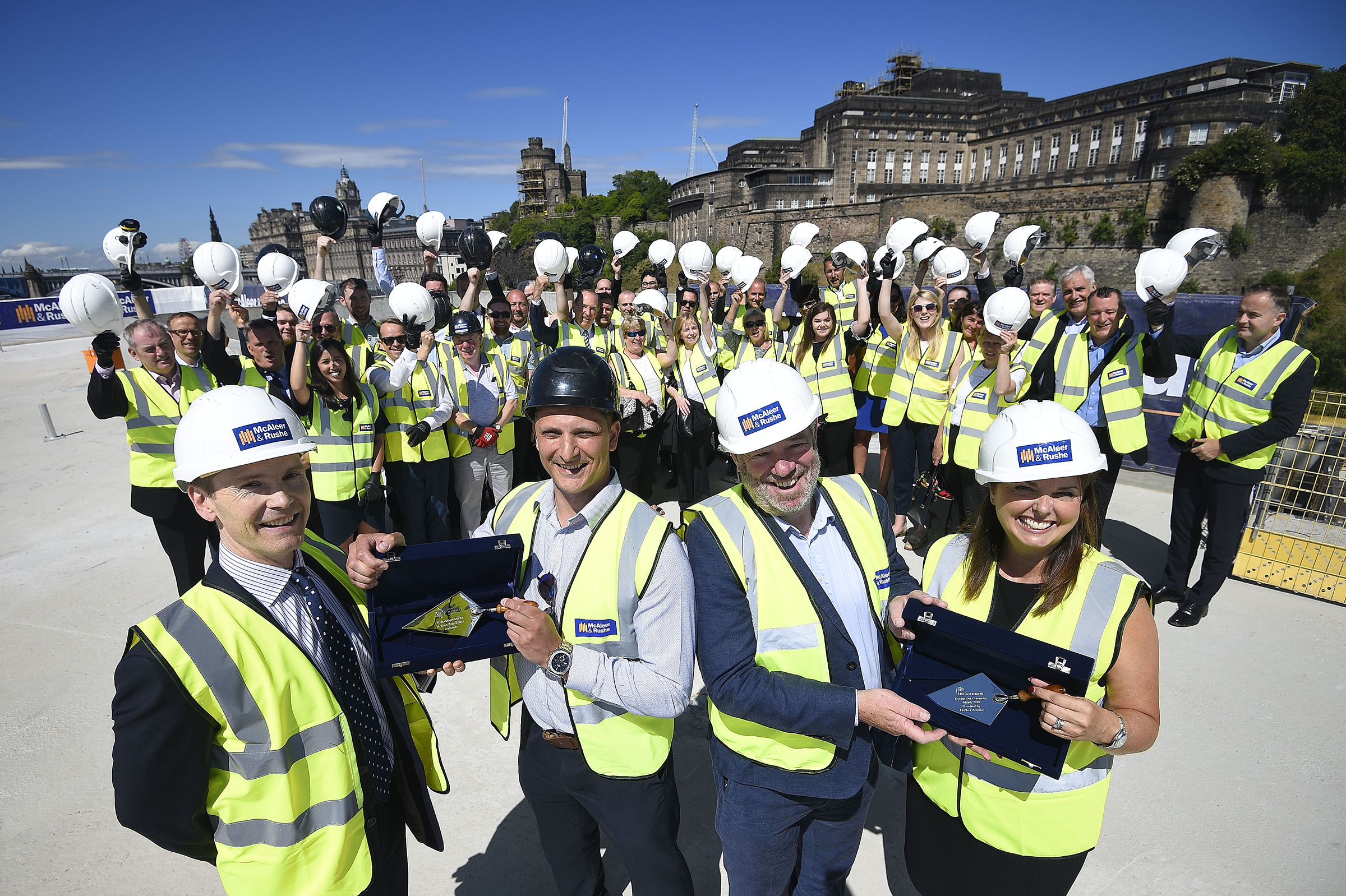 New Waverley Topping Out